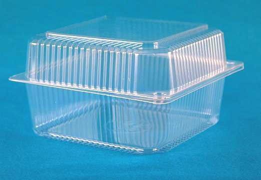 Пластиковая емкость с крышкой.