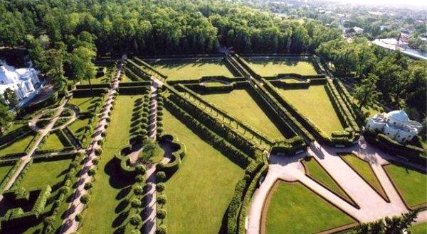 Геометричность регулярного сада