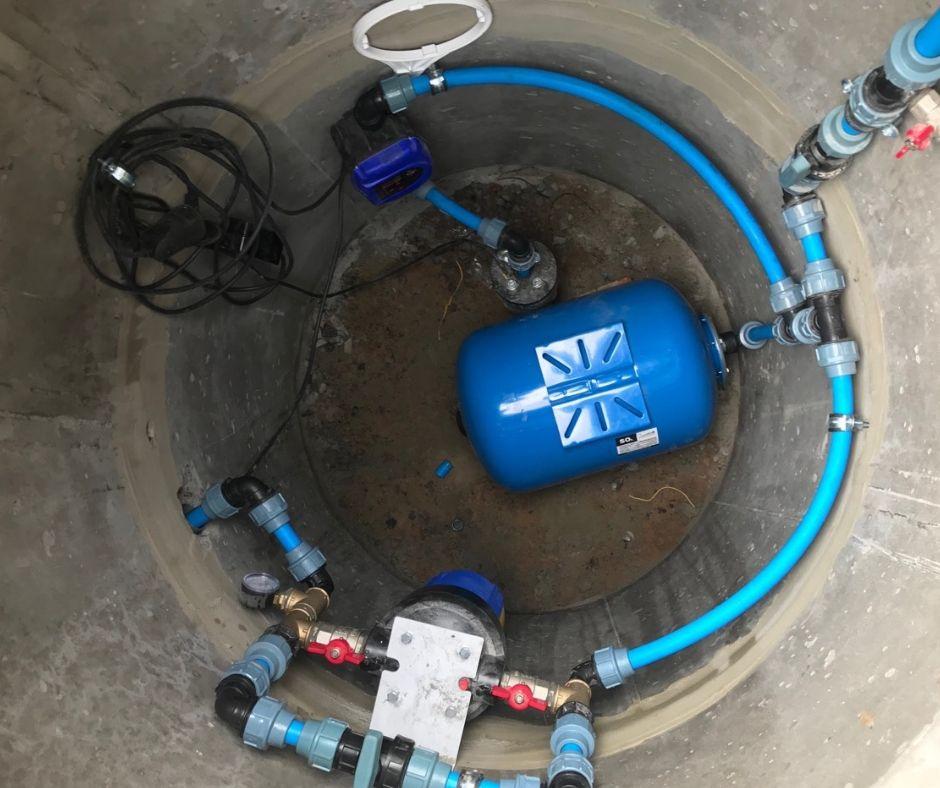 Пример выполненных работ бурения скважины под ключ, специалистами компании «Сила Воды».