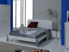 Спальня ў стылі канструктывізм