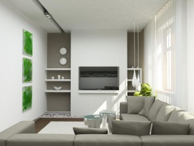 Small living room style constructivism
