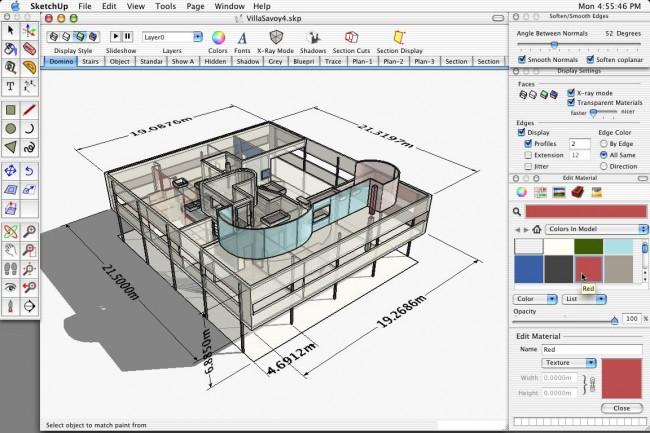 Программа для ландшафтного дизайна Google SketchUp