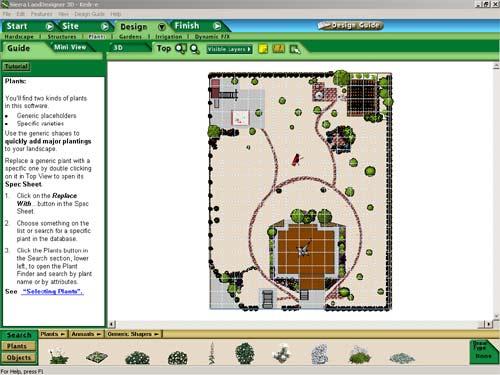Программа для ландшафтного дизайна Sierra Land Designer 3D 7.0