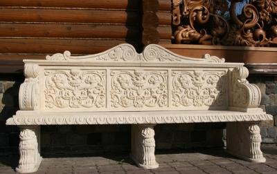 Скамейки из камня