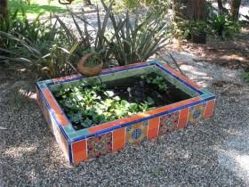 Водоем в мавританском саду
