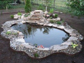Beautiful design garden pond