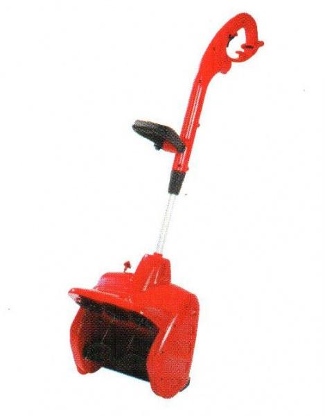 Пример одноступенчатого снегоуборщика