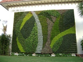The idea of vertical gardening