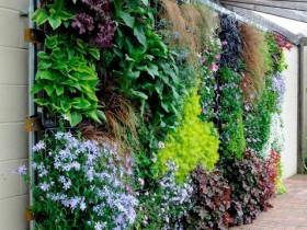 Vertical gardening garden plot