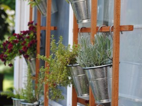 A simple way of vertical gardening