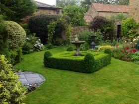 Роскошный английский сад
