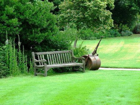 Газон в английском саду