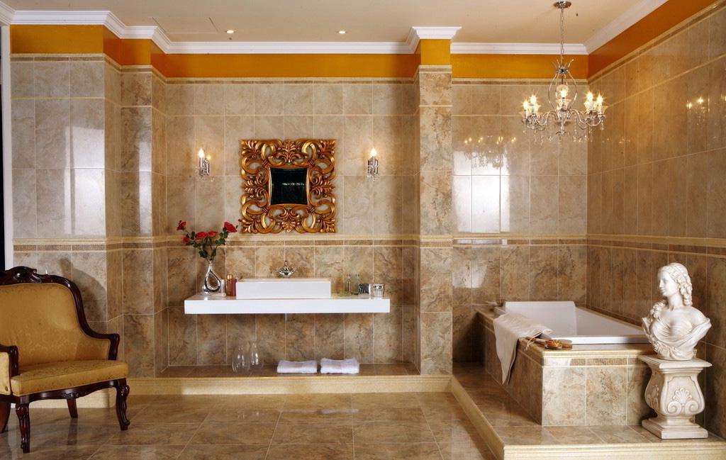 Стиль и дизайн ванной комнаты 179