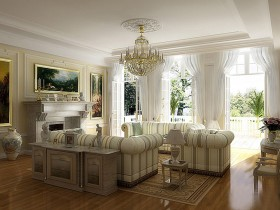 The idea of decorating your living room