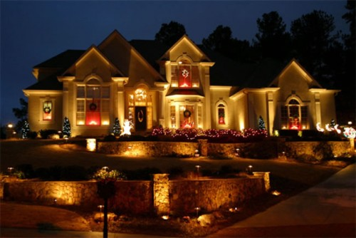 Фасадное архитектурное освещение