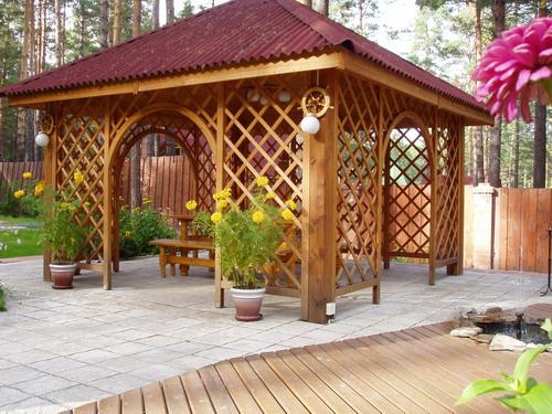 Создание мест для отдыха с помощью МАФ