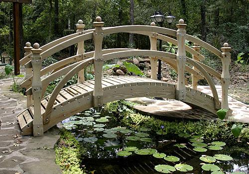 Разграничение территории с помощью мостика
