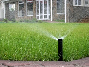Create an automatic watering system for the lawn with their hands