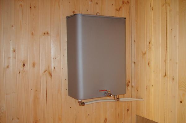 водонагревательный бак для бани