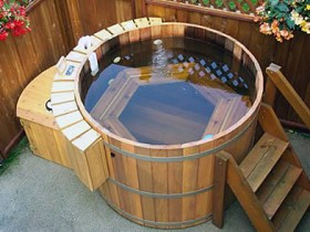 Japanese bath, furaco