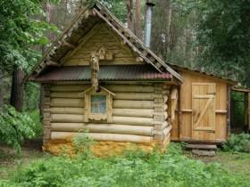Старая русская баня