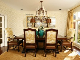The idea design a dining room