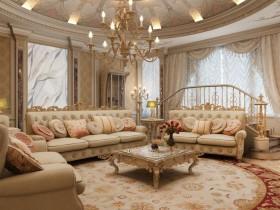 Elegant living Baroque