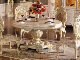 A table in the Baroque style
