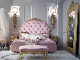 Luxury bedroom interior Baroque