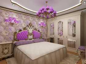 Bedroom Baroque style