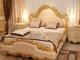 Bedroom in Baroque style