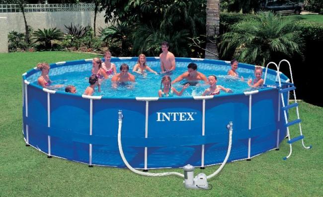 """Еще одна разновидность каркасных бассейнов """"Intex"""""""
