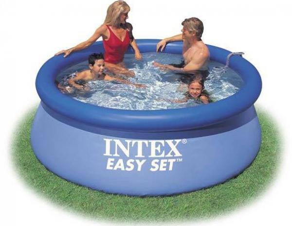 """Круглый надувной бассейн """"Intex"""""""