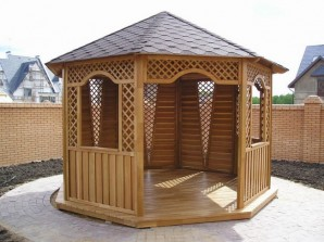 Construction of pavilions for summer with your own hands: step by step instructions and photo examples of design gazebos
