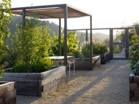 Metal garden gazebo