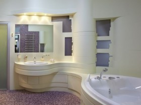 Beautiful large bathroom