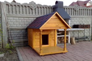 Kennel for the dog with their hands: step by step guide to create a home for the dog