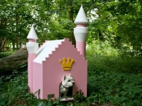 Гламурная будка для собаки