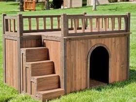 Будка для собаки со вторым этажом