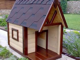 Стильная будка для собаки