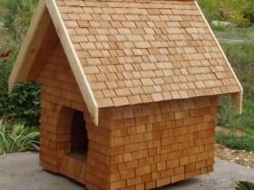 Арыгінальны дызайн будкі для сабакі