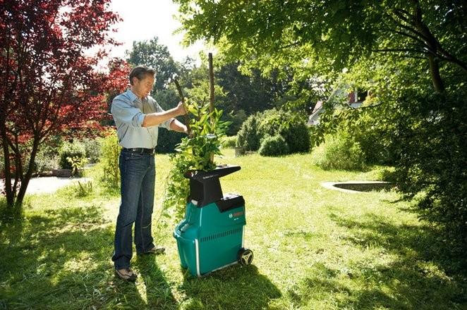 Виды садовых измельчителей