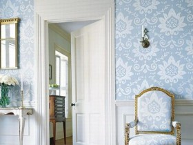 Furniture the color of the Wallpaper: design idea
