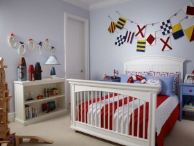 Children's room for boy