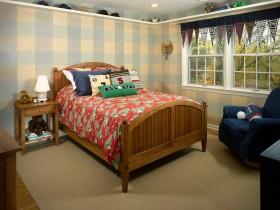 Вариант оформления детской комнаты