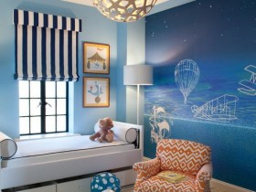 Beautiful children's room for boy