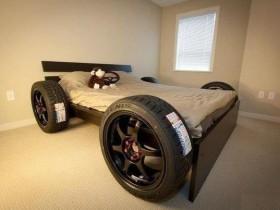 Идея дизайн кровати для мальчика