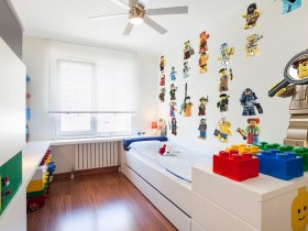 Small children's room for boy