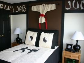 Детская комната каратиста
