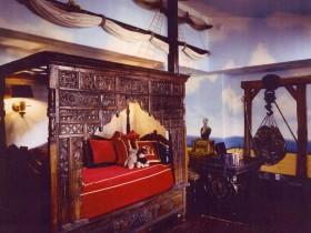 Детская комната мальчика в виде палубы